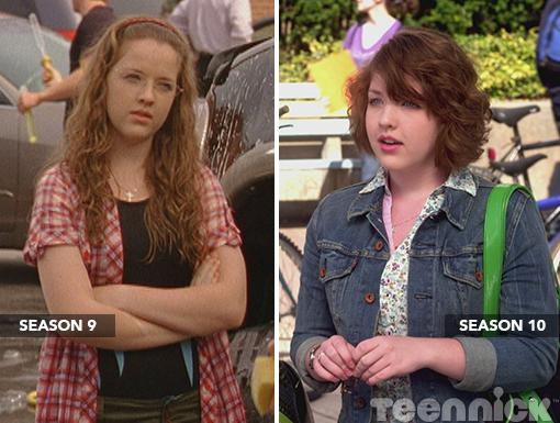 Clare Edwards (Degrassi)|Yes, that's the same Clare. Talk about total transformation. Nothing like a short 'n' curly cut to show off how mature and grown up you've become.