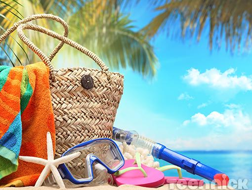 Going to the Beach|When you head to the beach, bathing suit, sunscreen, hat, towel, reading material and snacks are must-haves. But as you're running out the door, don't forget these helpful items, you'll be glad you brought them.
