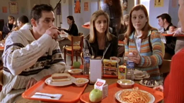 Buffy, the Vampire Slayer | Buffy: Cafeterias Are Gross! | Video Clip | TeenNick