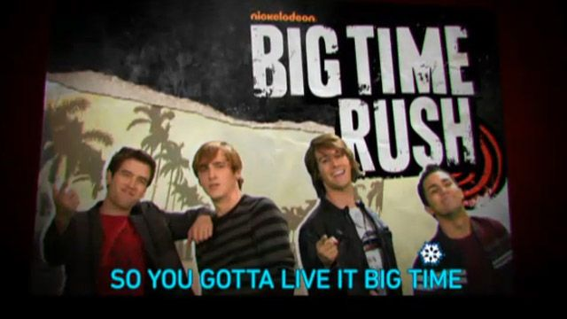 TeenNick All | TeenNick Sing Along: Big Time Rush Theme | Video Clip | TeenNick