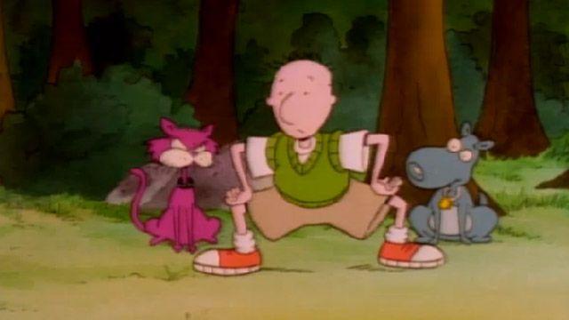 Doug Funnie is Crazy: Episode 9, Part 1; Doug's Big Catch