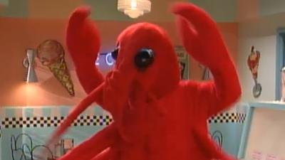 Nickelodeon vs. Disney: The Ultimate '90s Showdown |The Amanda Show Dancing Lobsters