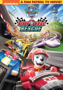 THE PUPS TAKE POLE POSITION IN PAW PATROL: READY, RACE