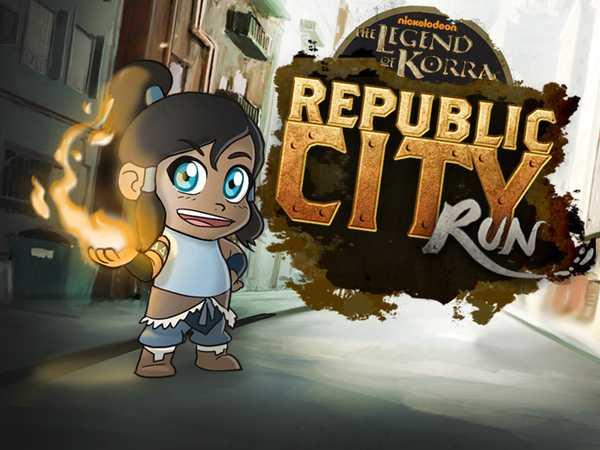 Korra: Republic City Run