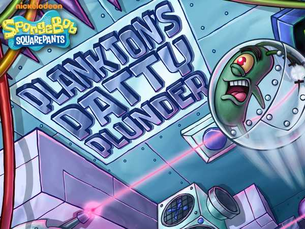 SpongeBob SquarePants: Plankton's Patty Plunder