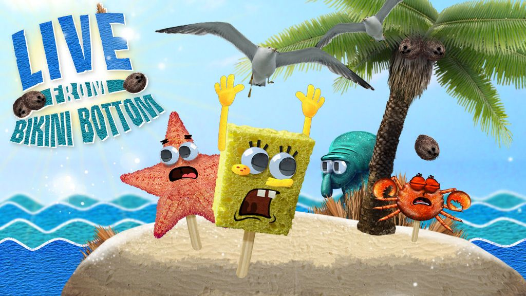 SpongeBob SquarePants Live From Bikini Bottom