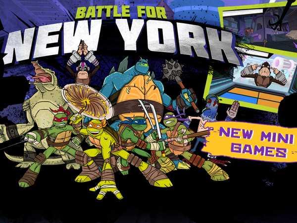 Teenage Mutant Ninja Turtles: Battle For New York