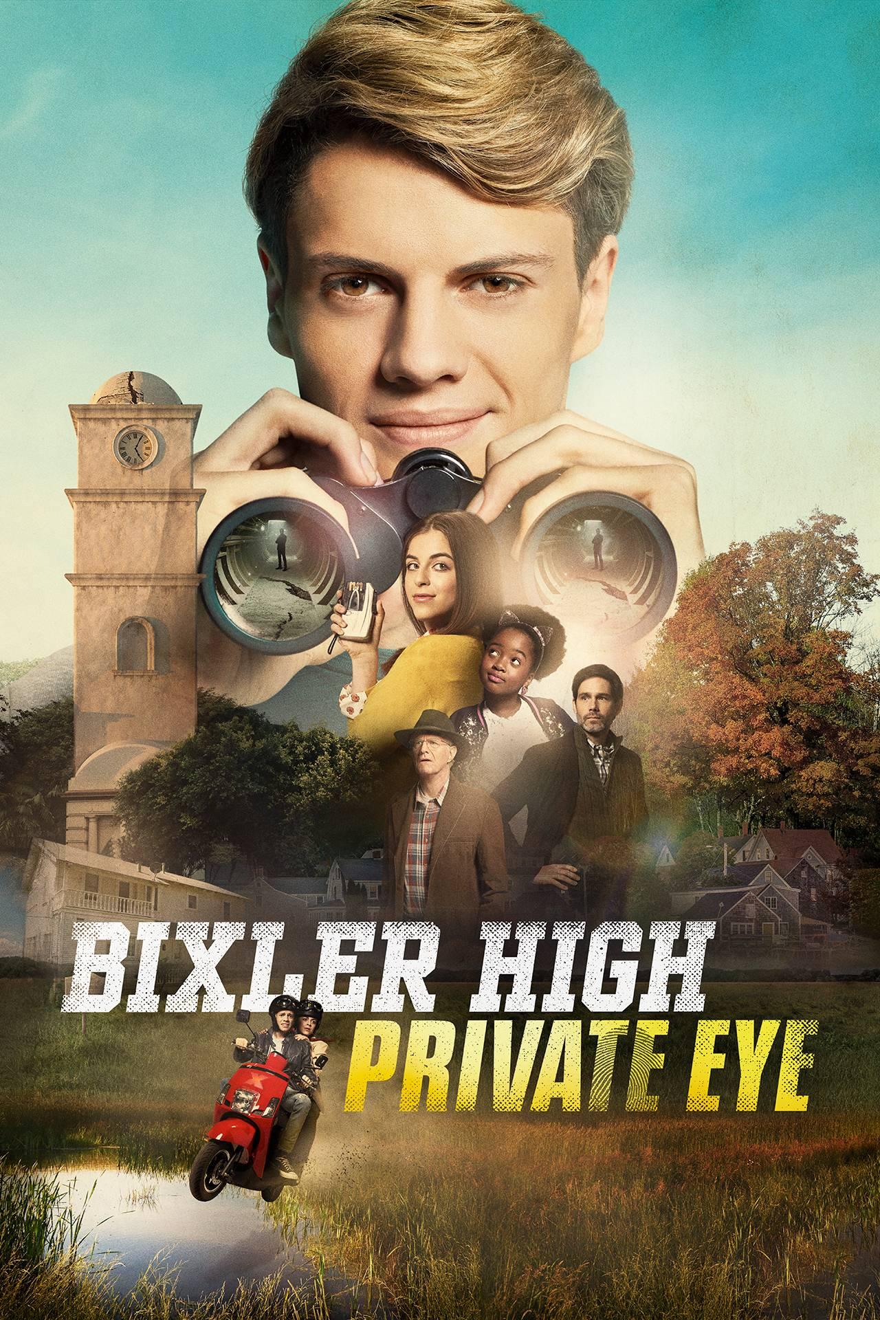 Bixler High Private Eye Official Tv Series Nickelodeon