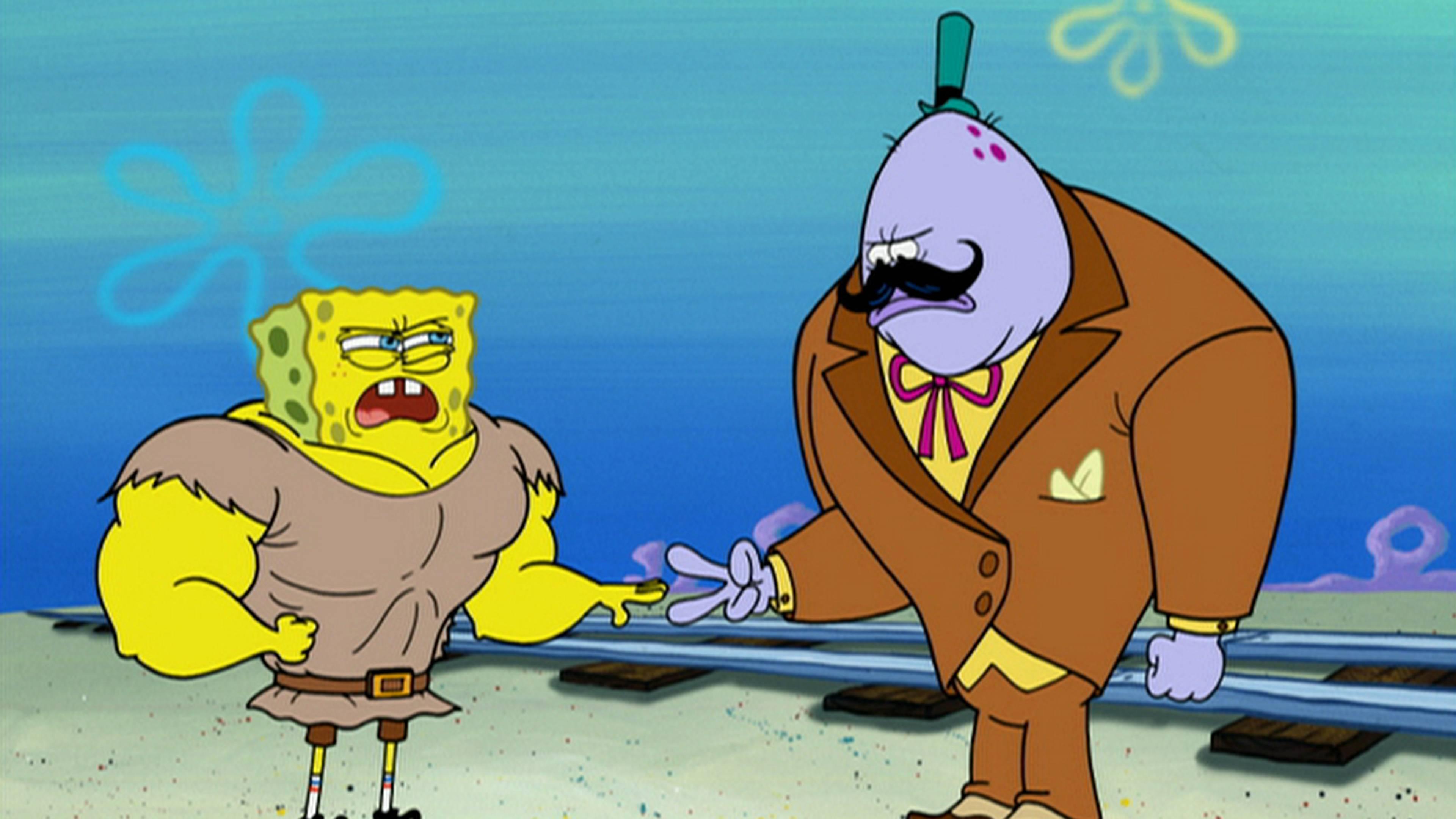 SpongeBob Schwammkopf: Lügen haben blaue Augen